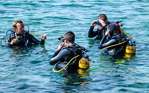 padi advanced open water course antibes